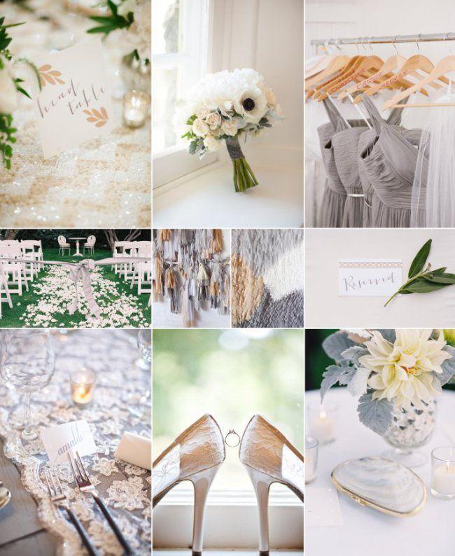 Elegant Neutral Wedding Color Inspiration Wedding Favours, Gifts