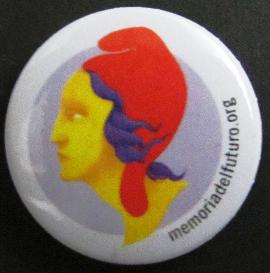 """""""memoriadelfuturo.org"""" [Dona amb gorra frígia; efígie de la República espanyola]"""
