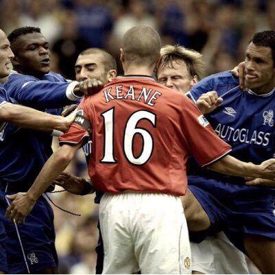 Keane- Manchester United