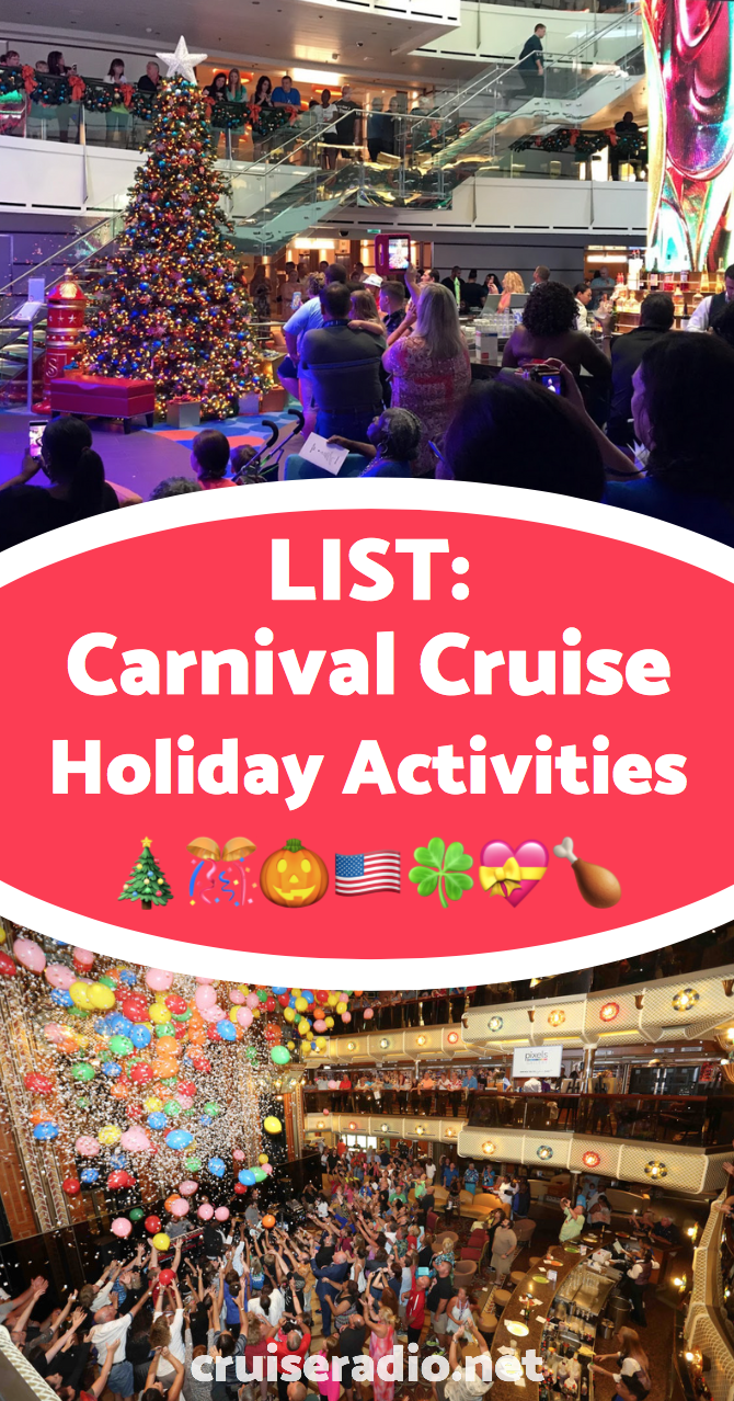 Christmas Carnival Cruise.How Carnival Cruise Celebrates Holidays Throughout The Year