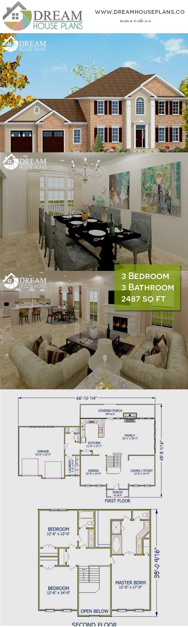 3 Bedroom 3 Bathroom 2487 Sq Ft 11 8b 2 8 Porch