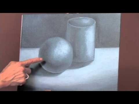 الألوان الزيتية للمبتدئين الدرس 4 البدء بالتلوين Oil Painting Basics Painting Lessons Painting Tutorial