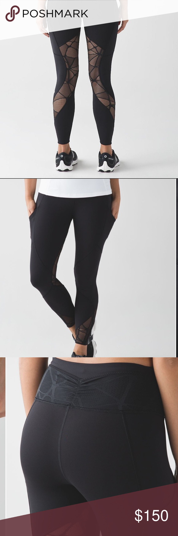 ea8ef3dd5fff52 Lululemon Goal Crusher 7/8 Tight New without tag. Size 4. SOLD OUT. Price  is firm lululemon athletica Pants Leggings