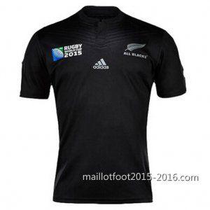 maillot de rugby all black Domicile 2015 RWC