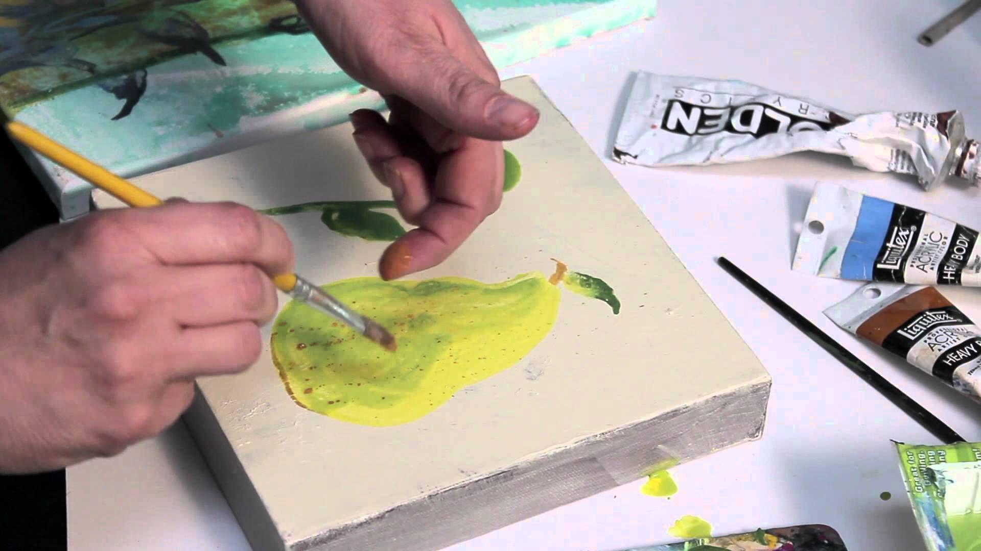 Acrylic shading techniques artist tips shading