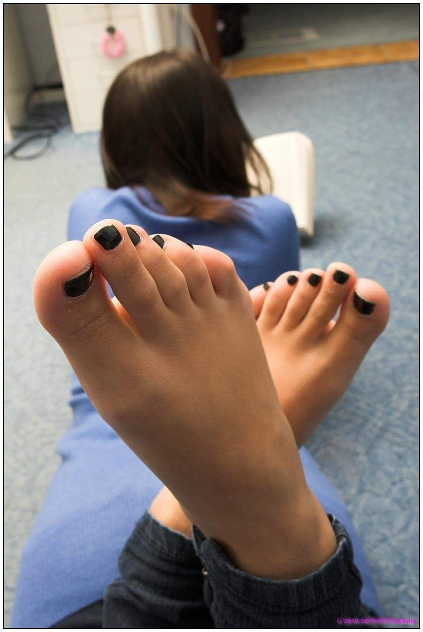 Cute Teen Girls Feet