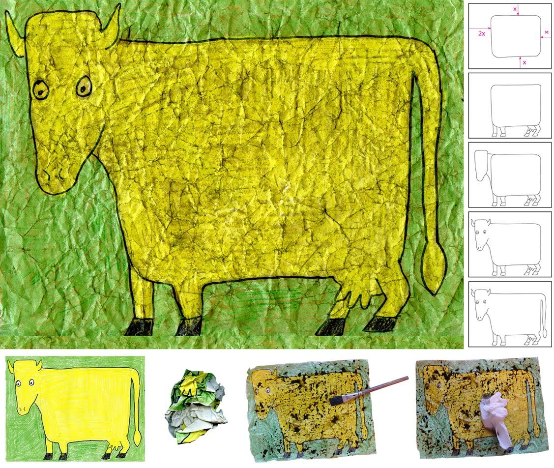 Jean Dubuffet Painted The Cow With A Subtile Nose In And I Ve Always Wanted To See How