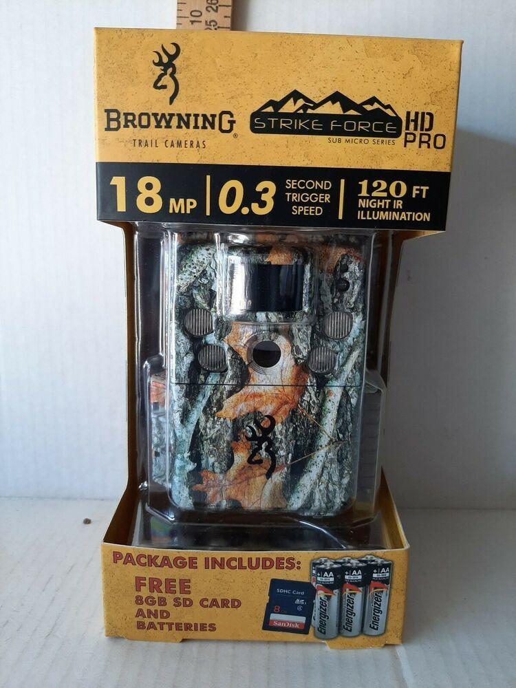 Browning Strike Force Explorer 18MP Trail Camera
