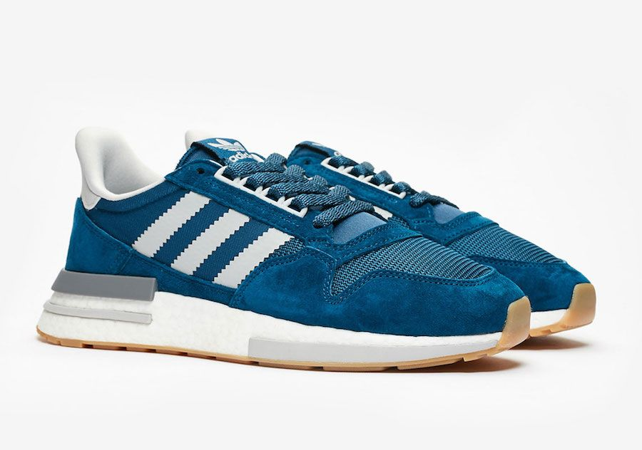 18e5c29ebfb7 Sneakersnstuff adidas ZX 500 RM Blue Night F36882 Release Date ...