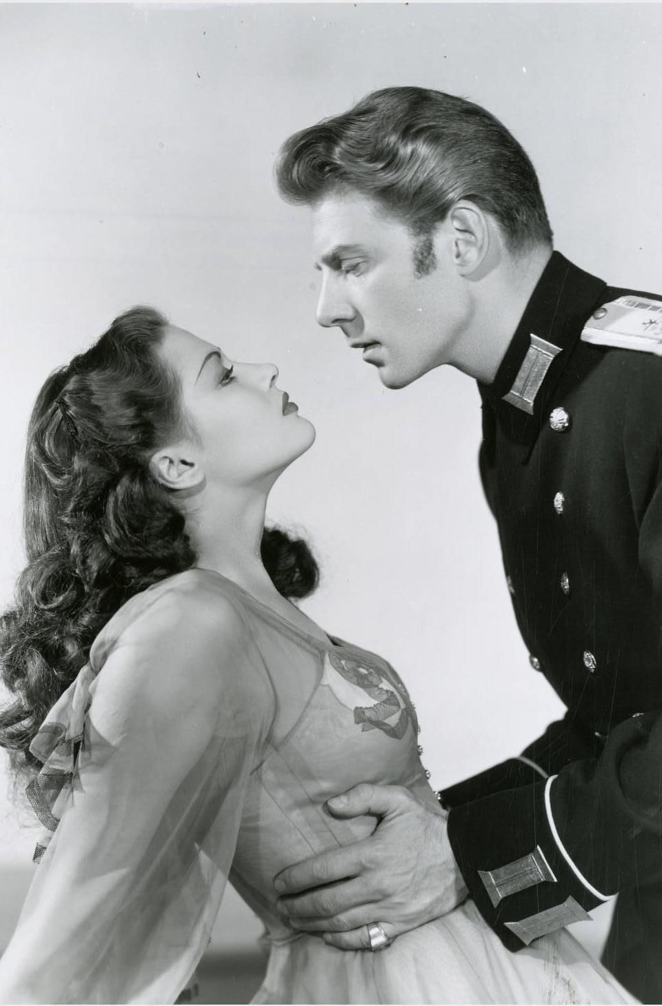Yvonne DeCarlo and Jean Pierre Aumont