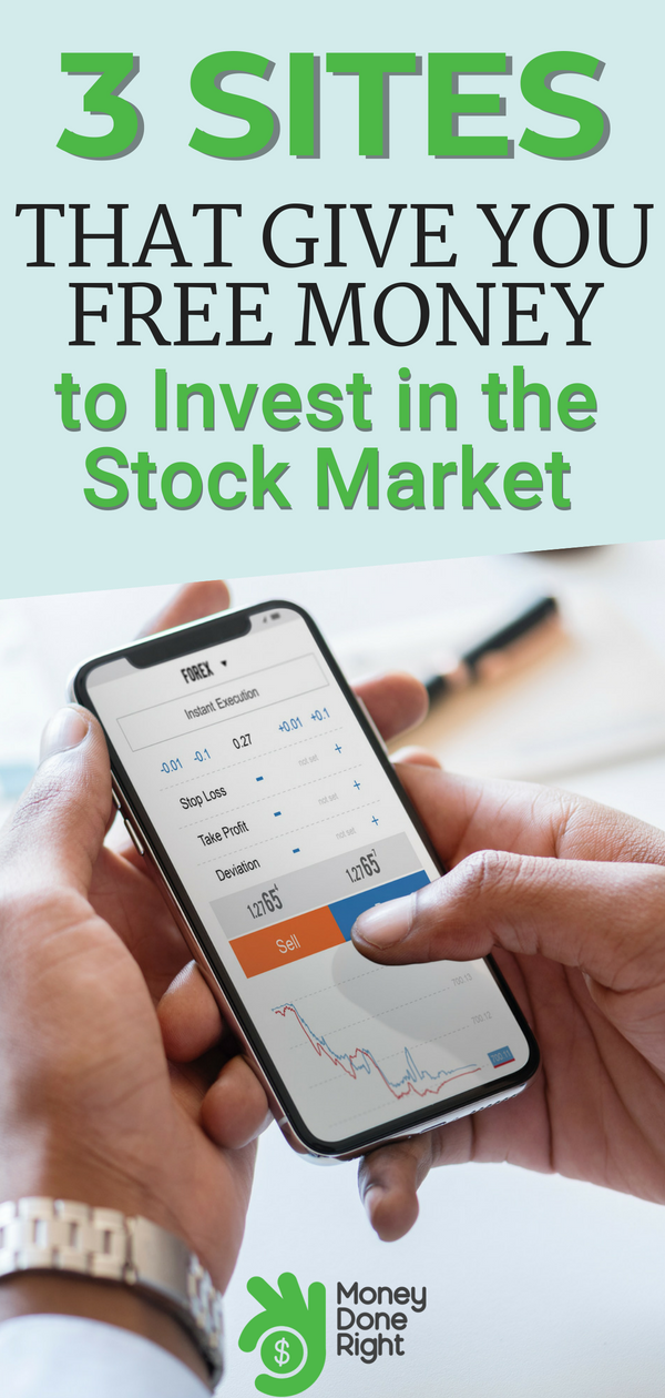 3 Sites That Give You Free Money to Invest in Stocks