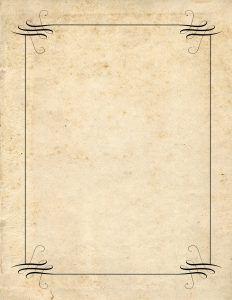 letter template vintage  Free vintage borders - Instant download. | Vintage borders ...