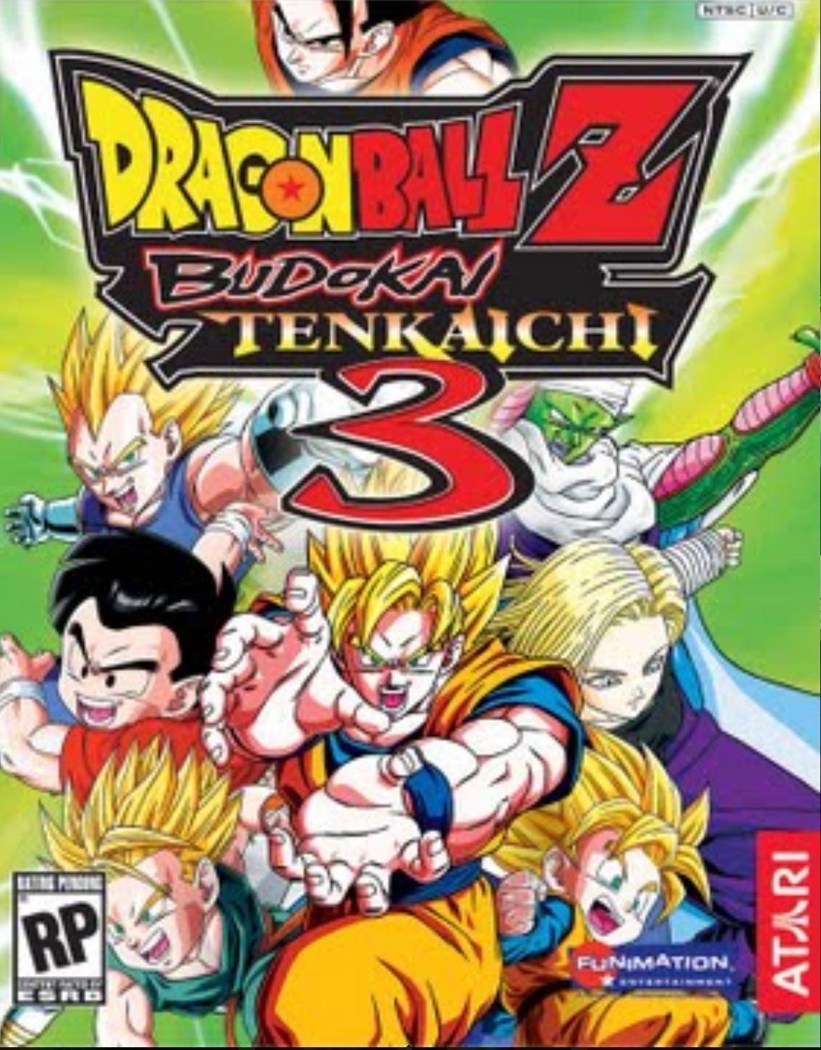 Dragon Ball Z budoki tenkaichi 3!!! Dragon ball z, Wii games