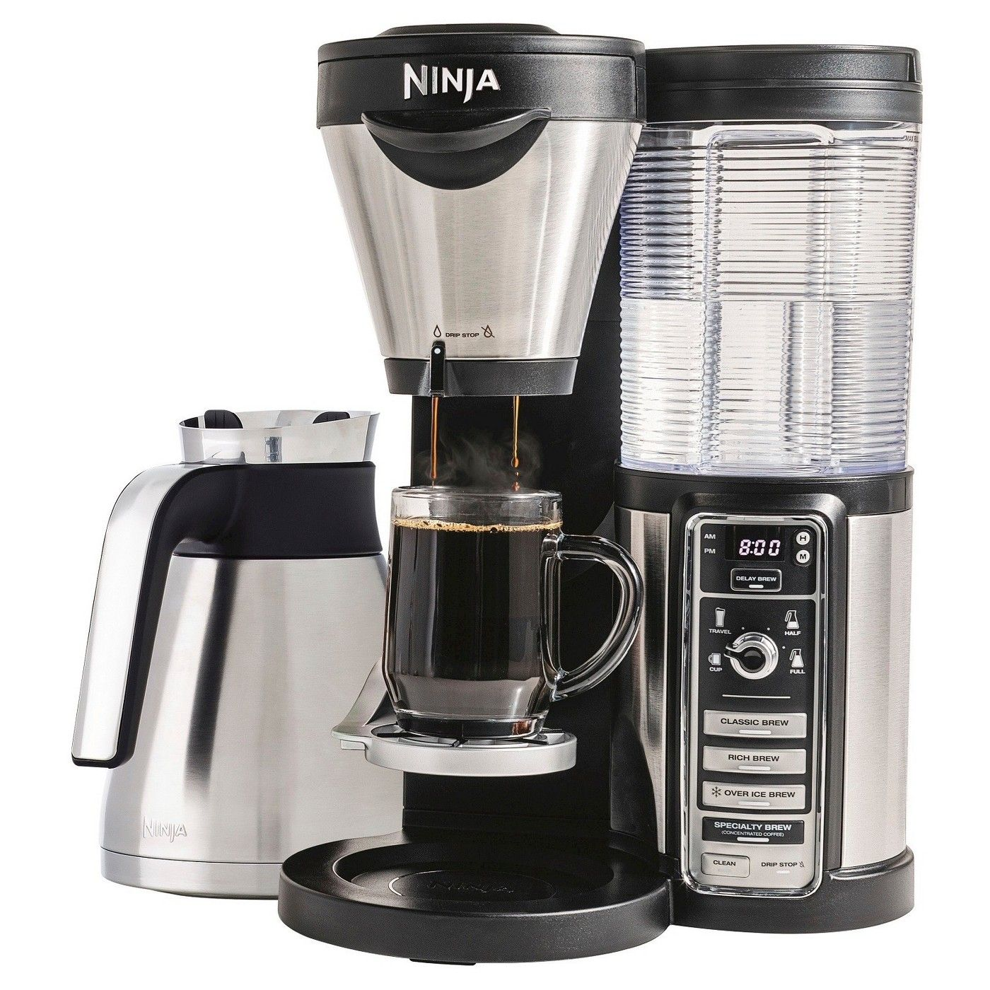 Ninja coffeebar coffeemaker with thermal carafe image of by