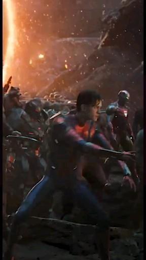 Avengers assemble scene