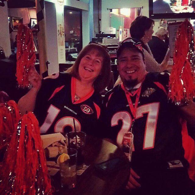 #superbowl50 @mardigrasstaug  Denver fans representing! #superbowl #staugustine #nfl