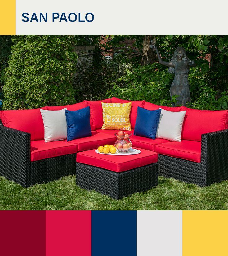 le sectionnel san paolo est compose de 3 morceaux il est fait d une