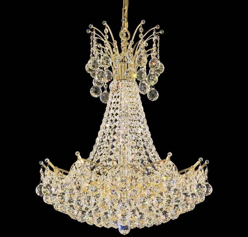 Image lustres schonbek colored cristal lumire pinterest schonbek lighting presents the contessa collections crystal chandelier with a gold finish beautifully trimmed with its faceted crystal spheres aloadofball Images