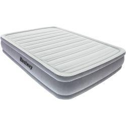 Bestway Comfort Cell -varavuode, 139,95€. Mukava ilmatäytteinen varavuode tai -patja. Pehmeällä pinnalla ja tekstuurilla varusteltu patja takaa hyvät unet ja tarvittavan tuen nukkueesa. Mukana ilmapumppu ja kantokassi. Sopii myös ulkokäyttöön. Ilmainen toimitus! #varavuode