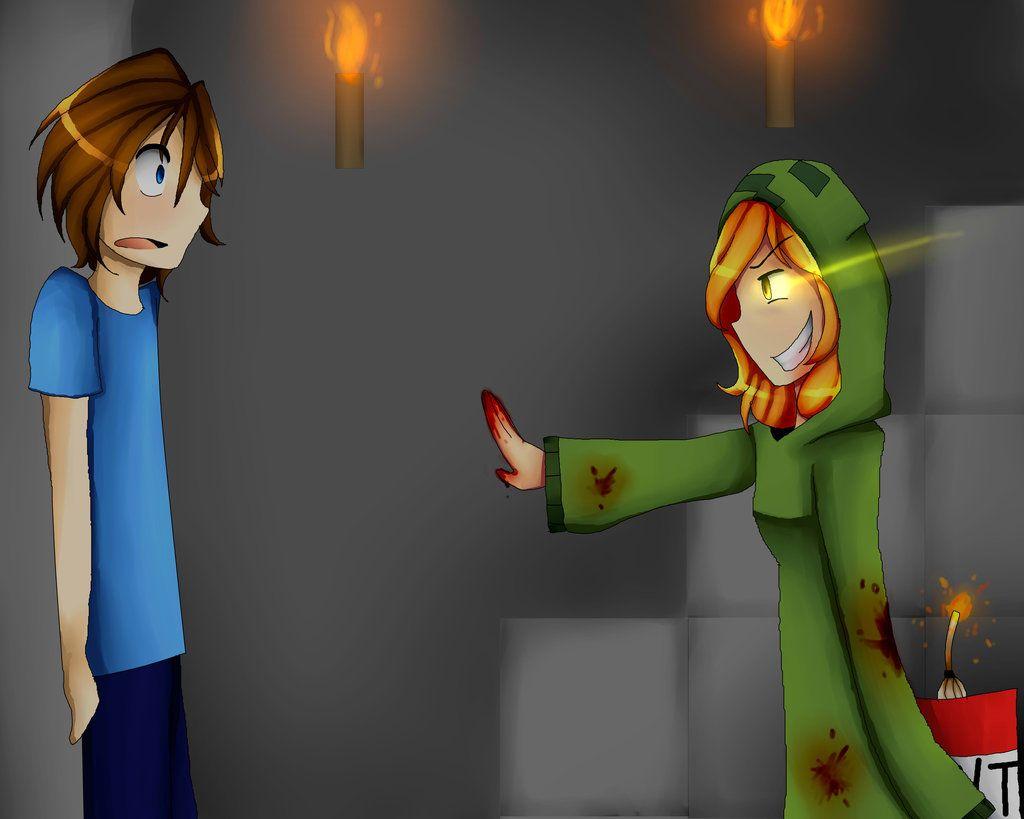 GIRL vs. HEROBRINE - Minecraft - YouTube