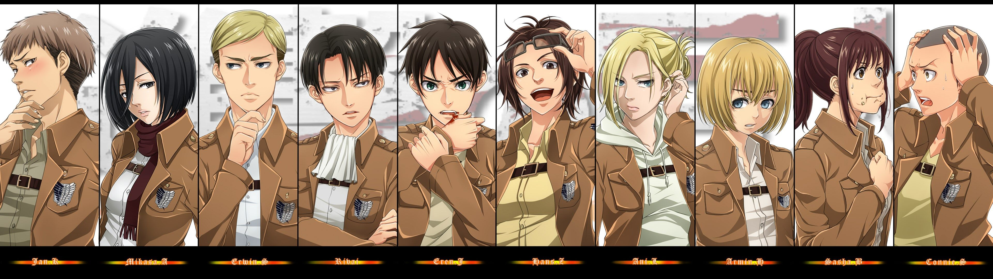 Free Desktop Wallpaper Downloads Attack On Titan Attack On Titan Category Gambar