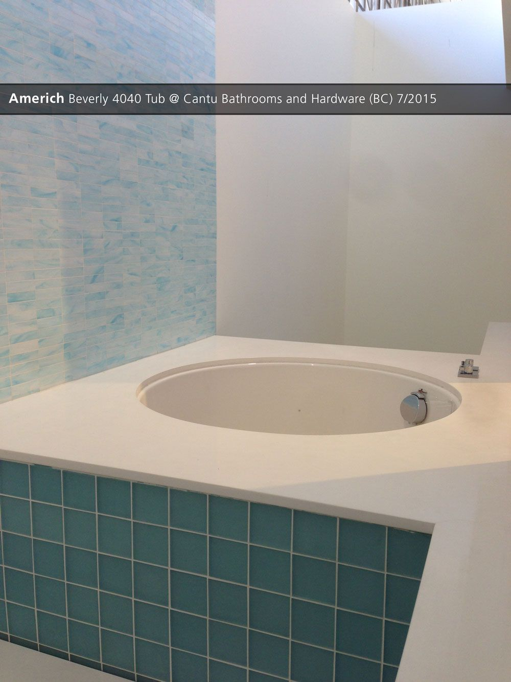 Americh Beverly 4040 Tub @ Cantu Bathrooms and Hardware (BC) - 7/20 ...