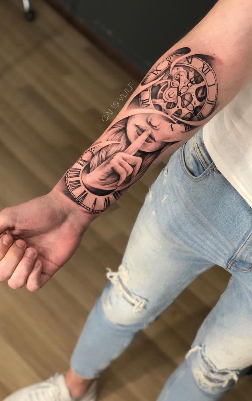 80 Fotos De Tatuagens Masculinas No Braco Em 2020 Tatuagem
