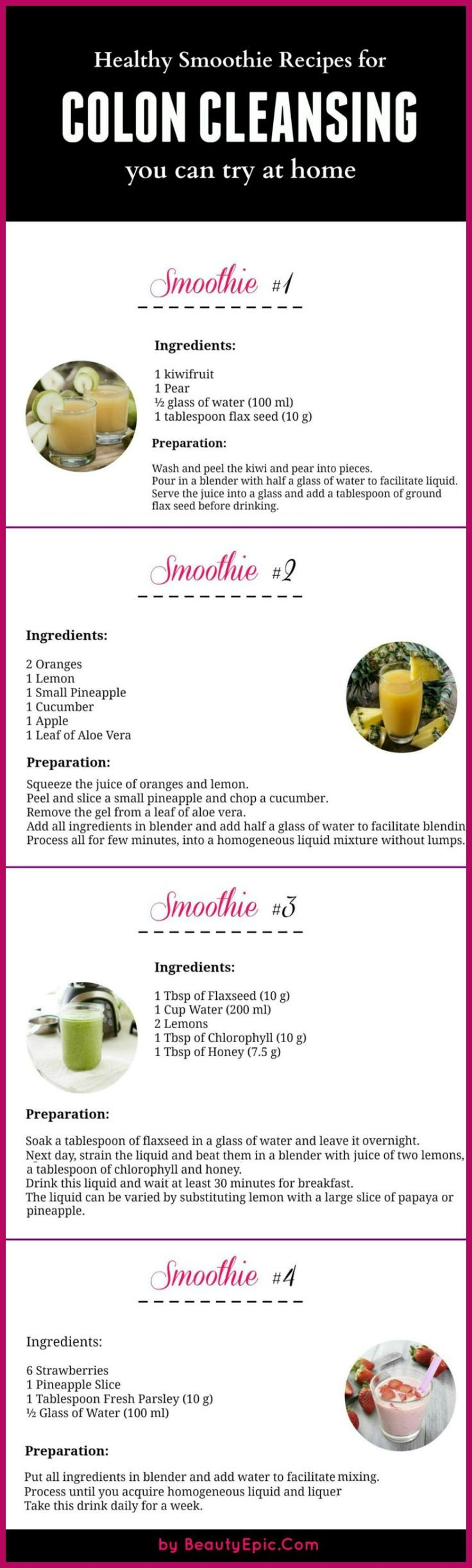homemade body cleanse drink recipe
