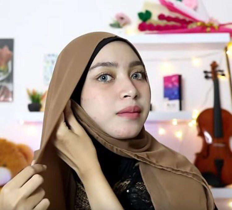 Tutorial Hijab Pashmina Versi Nissa Sabyan Hijab Tutorial Hijab Pashmina