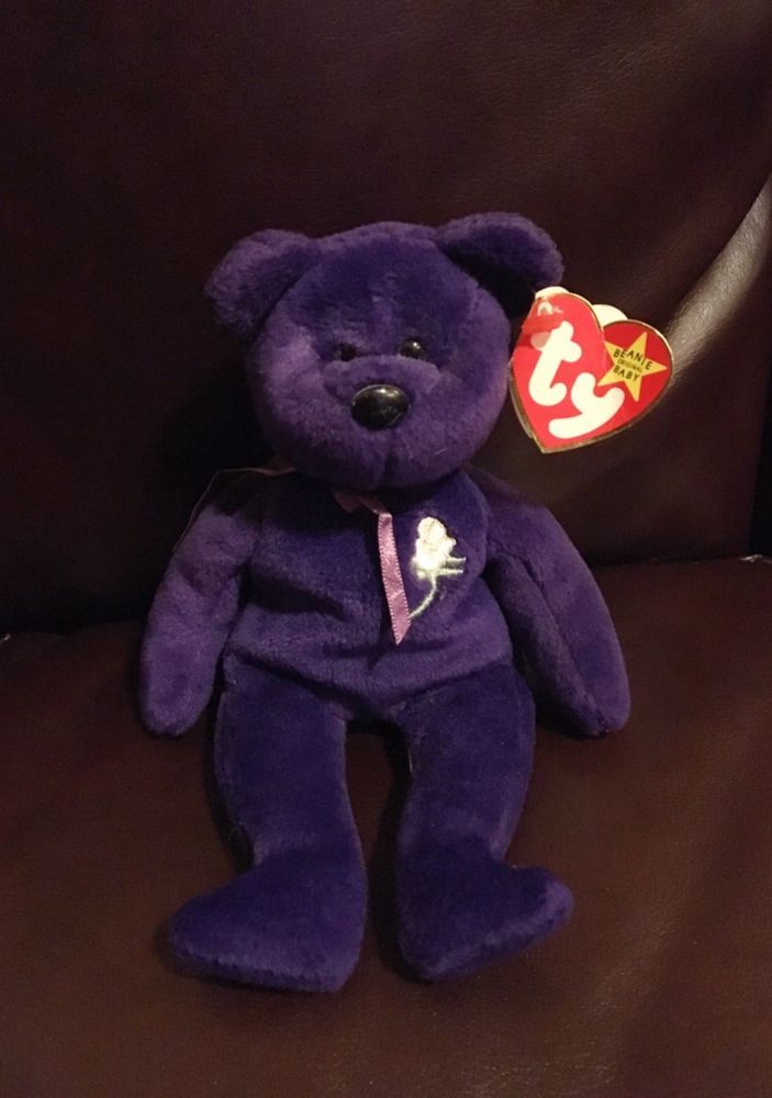 Retired Authentic Princess Diana Beanie Baby  fc9e941a5f8