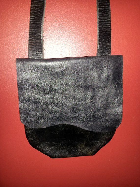 Possibles Bag Hunting Pouch Handmade From Leather Impossiblepossibles Etsy