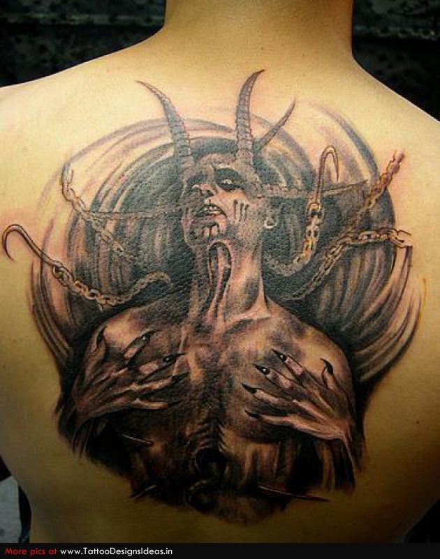 aaeb6bc32 Devils and demons tattoo art : originally believed to be a sign of evil, devil  tattoos have since grown in both meaning and popularity for both men and ...