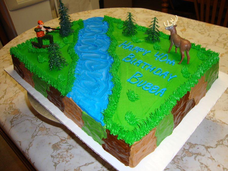 Deer Hunter Birthday Cake Deer Hunter cake Birthday Cakes