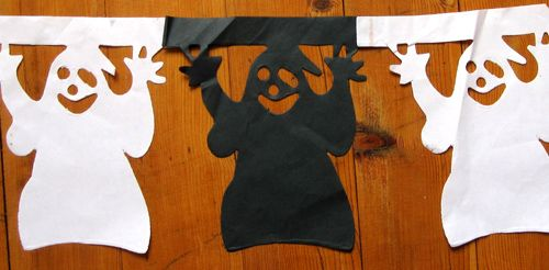 Fabriquer Soi Même Des Guirlandes Halloween Halloween Pinterest