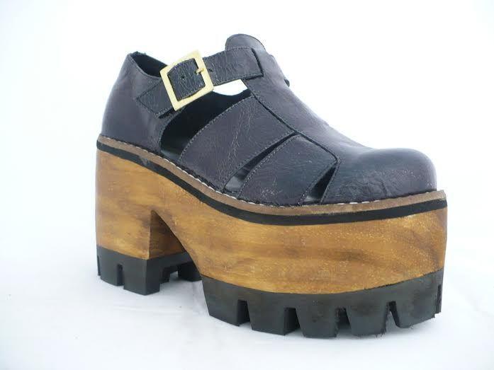 f5c7f725 zapatos con taco cuadrado y plataforma - Buscar con Google | Zapatos ...