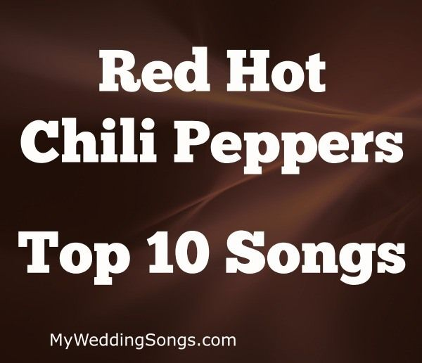 Wedding Song Red Hot Chili Peppers