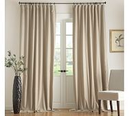 Peyton Linen Cotton Curtain Home Decor Bedroom Drapes Home