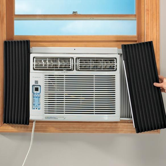 Air Conditioner Side Insulating Panels Zoom Window Air Conditioning Units Indoor Air Conditioner Air Conditioner