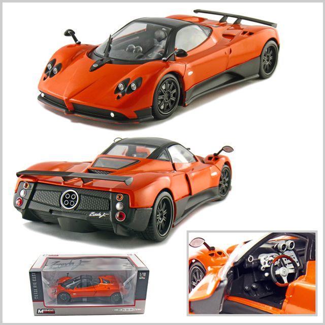 Pagani Zonda F - Orange (Mondo Motors) 1/18