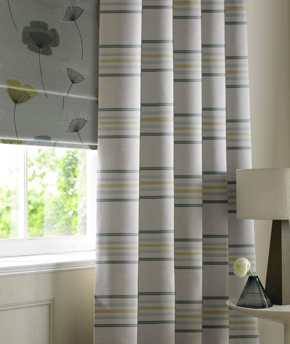 Linen Stripe Made to Measure Curtain Made to measure