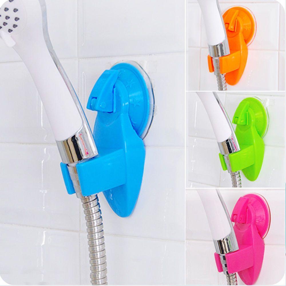 Hot 1Pc Adjustable Strong Sucker Support Shower Head Bracket Shower ...