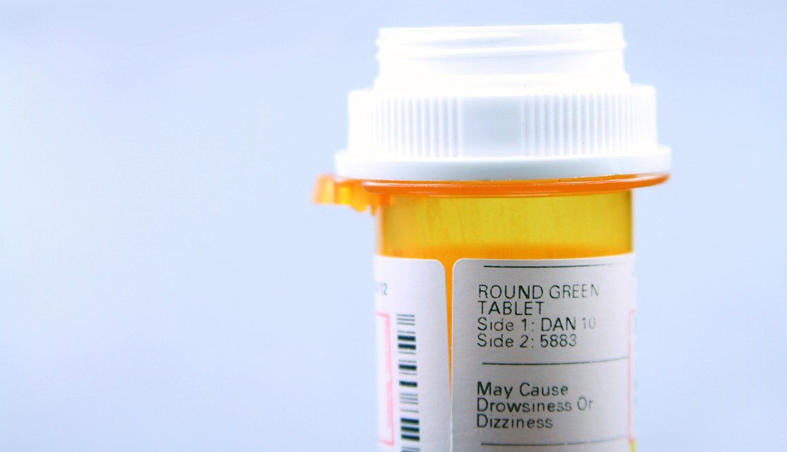 Pharmacy Medication Bottle Rx Discount Prescription Aarp Discount Card
