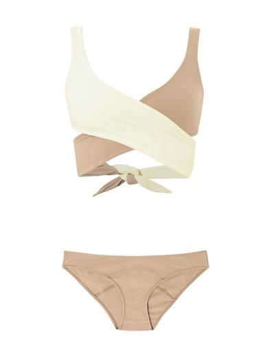 Lisa Marie Fernandez Marie-Louise wrap-around bikini MATCHESFASHION.COM #MATCHESFASHION