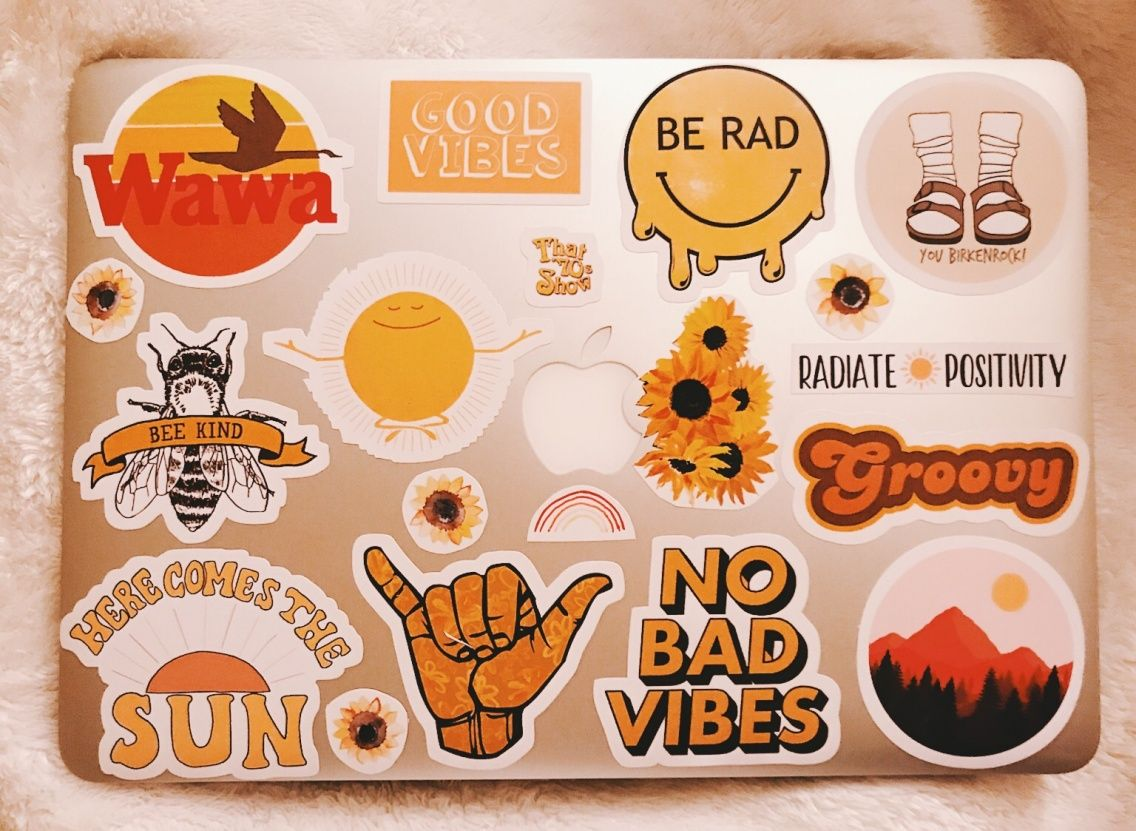 Vsco sophiehutch aesthetic stickers stickers on laptop mac laptop stickers macbooks