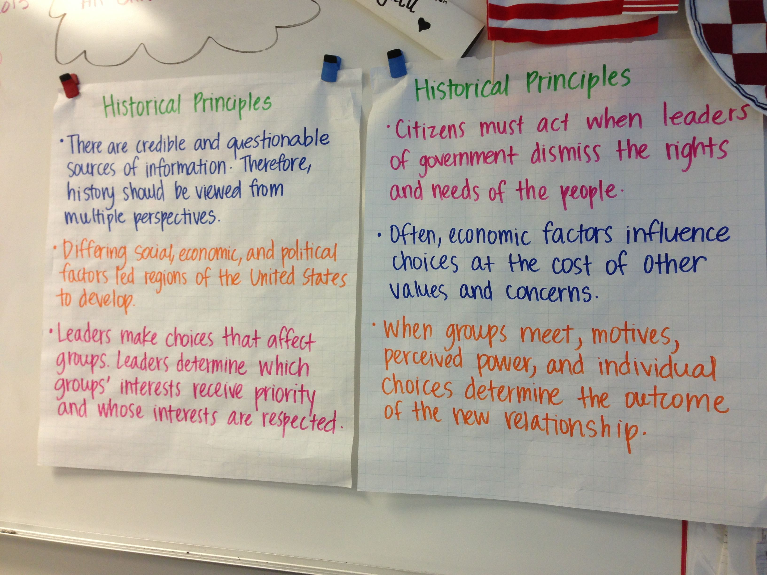 Historical Principles 8th Grade Social Stu S Dc Key
