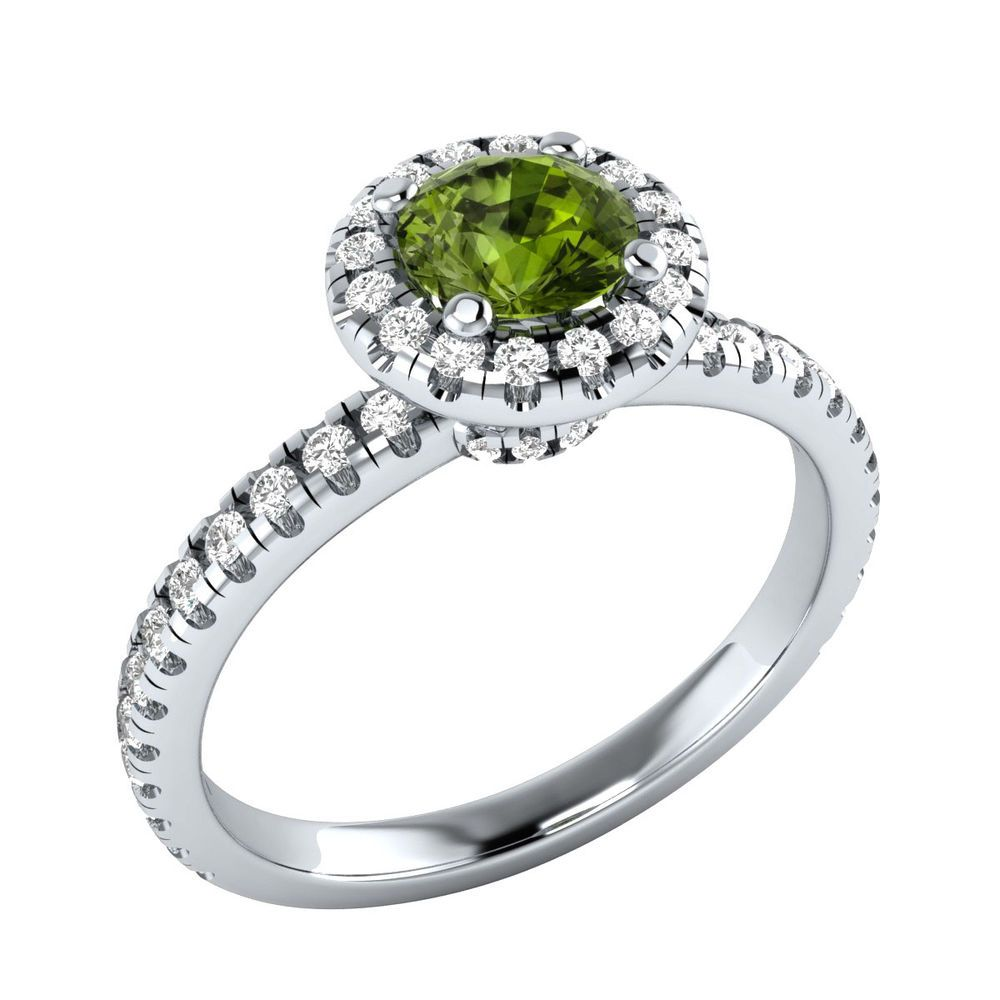 round wedding peridot in real natural green silver stone sterling ring rings leige simple from item shape august jewelry birthstone