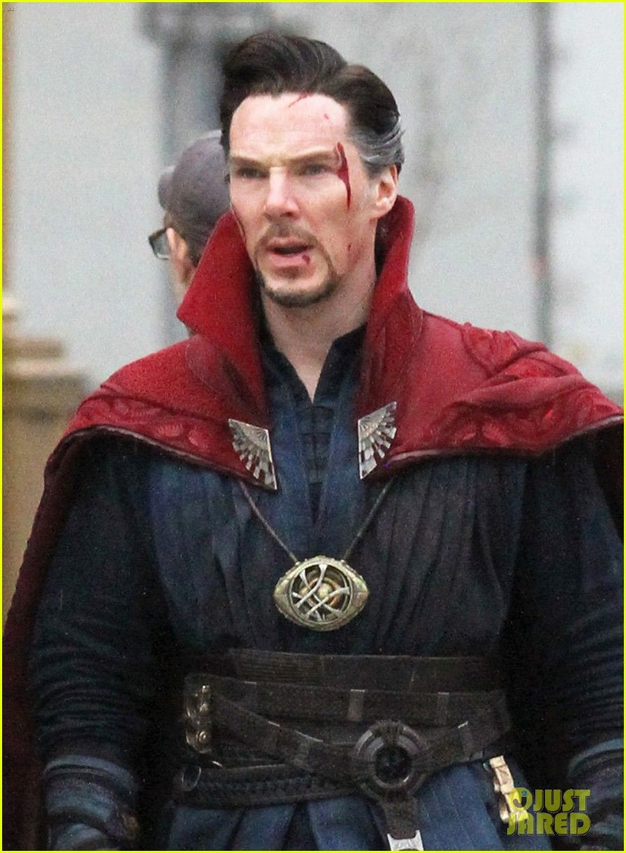 Benedict Cumberbatch Films 'Doctor Strange' in NYC - First Pics!: Photo #3620289. Benedict Cumberbatch runs down the street while filming an action scene for his upcoming Marvel movie Doctor Strange on Saturday (April 2) in New York City. The…