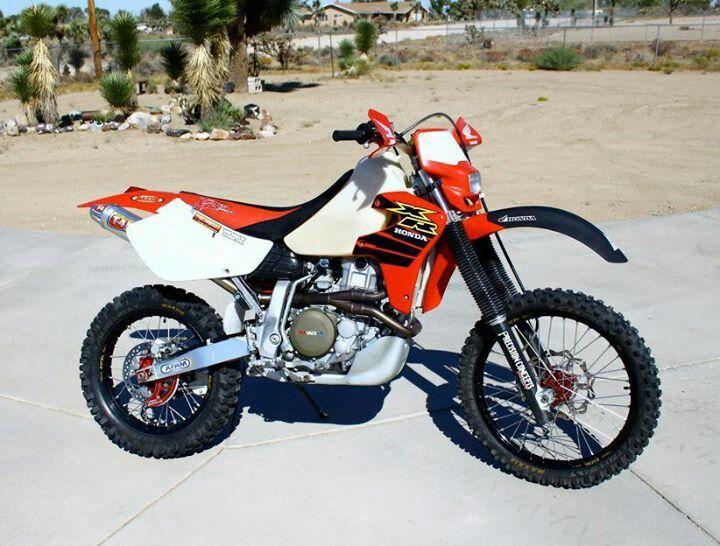 My Old Johnny Campbell Works Xr650 Honda Bikes Adventure Bike Motorcycle Dirt Bike