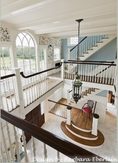 Beautiful traditional interiors with stunning details gorgeous staircase in foyer of  coastal home also pin by slice   pi on decor pinterest house rh