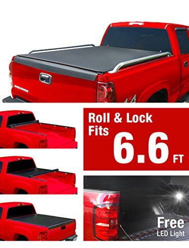 Premium Low Profile Roll Up Truck Bed Tonneau Cover 1999 2006 Chevy     Premium Low Profile Roll Up Truck Bed Tonneau Cover 1999 2006 Chevy  Silverado   GMC Sierra 1500 2500 3500 HD  Incl  2007 Classic    Accesorios